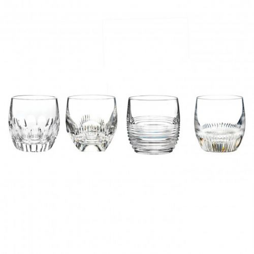 Waterford Mixology Set of 4 Double old Fashion tumblers
